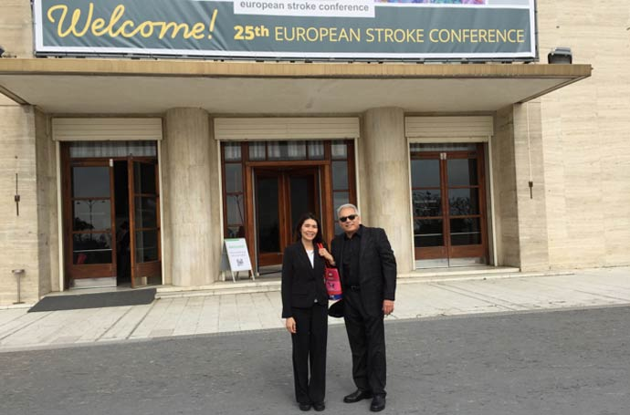 Neuro-ifrah® Presentation At The European Stroke Conference In Venice Italy